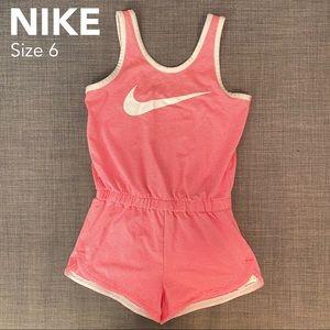 🎀Girls Nike Romper • Size 6🎀